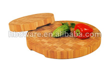 2014 latest product of China round wood Cutting Board