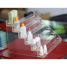 Moge Clear Acrylic Display E Liquid Products Display Stand