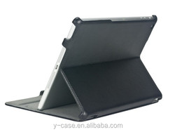 Hot pressing leather case for iPad air , tablet case for iPad 5