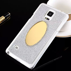 Skin For Samsung Galaxy Note 4 Cellphone Glitter Diamond Mirror Case