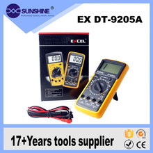 China supply electric low price digital multimeter with LCD display
