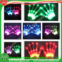 Trend Christmas Gift 2015 LED Gloves Manufacturer Factory