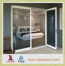 YJ hot sale aluminum outward casement door,high quality lock for hospital