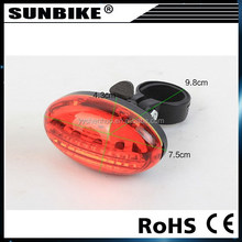 SUNBIKE 2015 high quality hot sale factory direct sale bicycle taillights