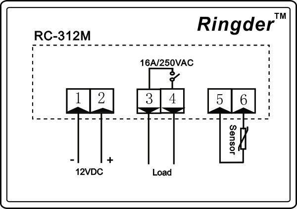 rc-312m peltier temperature controller