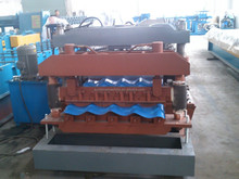 glazed tile used metal roof panel roll forming machine