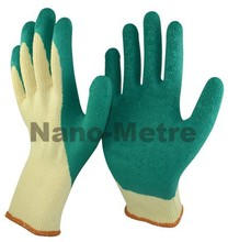NMSAFETY green synthetic rubber safety gloves