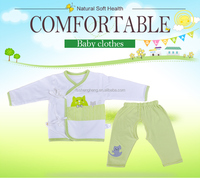 new design custom organic cotton adult baby girl clothing GB015