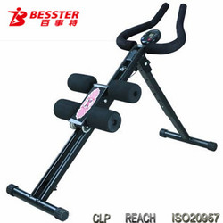BEST JS-001glider machine AB waist trainer exercise lose weight equipment hot sale on tv home gym body shaper
