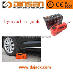 made in china 12v dc car electrical hydraulic jack car jack 3 tons