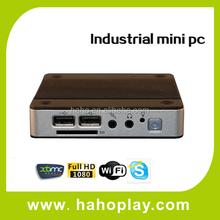 High Quality Full Aluminum Mini Pc Case X86 I5 K700 2*lan Ports Mini Pc 3g