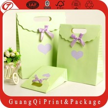 Custom Printed paper carrier bag for watch