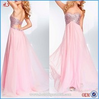 New All Types Of Ladies Dresses Pictures Of Latest Gowns Designs Chiffon Sequined Dress Free Prom For Girls