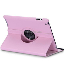 New Washable fashion rotate business patterns leather tablet covers for ipadmini
