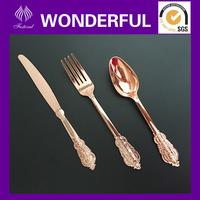 GS6600 hard elegant designer plastic cutlery sets
