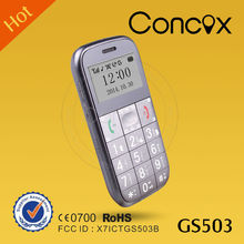 Hand GPS Mobile Phone for Elder People GS503 from shenzhen Concox