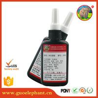 Guo elephant clear uv gel bulk 1kg super glass glue uv gel manufacturers