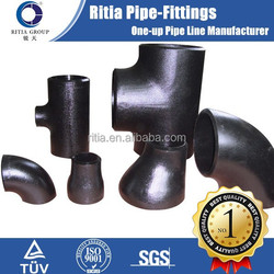 a234wpb black iron pipe butt welded carbon steel fittings