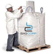 cheap price fibc builder bags with flat discharge bottom, pp bulk bag, jumbo bag