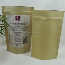 Popular charming image printed kraft paper bag/food grade brown paper bag/paper carrier bag for packing
