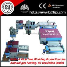 WJM-2 nonwoven wadding plant, nonwoven polyester fiber processing machine