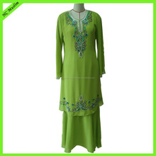 Hot selling muslim clothing designer abaya wholesale