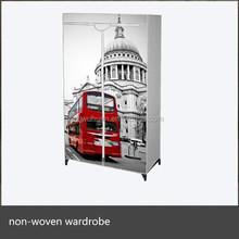 new design bedroom wardrobe portable closet