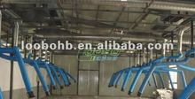 Portable Welding smoke extraction system, the fume source arms