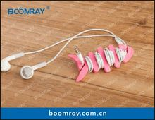 useful and cute cable headset connector buleberry s4 mobile phone