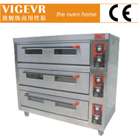Hot!!!!! Factory direct sales high quality electric deck oven for bread(Manufacturer CE)