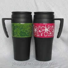 PP inner plastic tumbler with handle