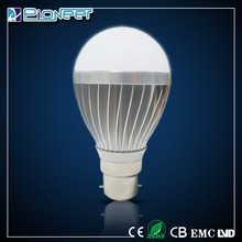 China factory new products aluminum B22/E27 85-265V led bu