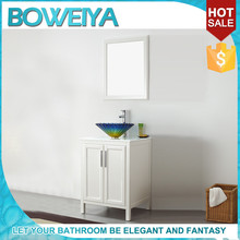 Premium Decoration Hotel Bedroom Vanity Table With Glass Sink