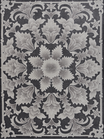 2015 High Quality Digital Printed Area Rugs Design with 100% Sorona