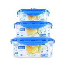 2L/1L/0.5L Airtight vacuum food container with valve lid