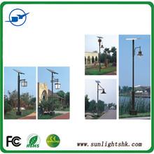 18W Green Power Solar Led Light Garden Light Parking Lot Lighting