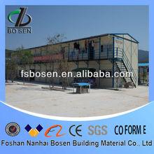 Affordable Modular Real estate light Steel structure prefab House