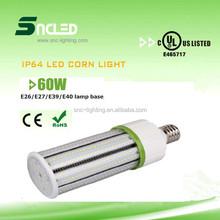 100-115lm/w led corn light,high quality UL led corn bulb for parking garage,175w replacement 60w led corn light