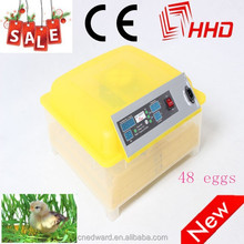 Top selling full automatic combined incubator and hatcher for eggs EW-48