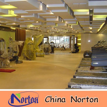 gym indoor pvc vinyl floor,pvc commercial flooring roll NTF-PC126B
