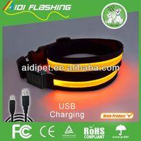 Outside refective lighting led sport belt