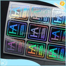Free sample and shipping warranty void hologram sticker