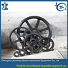 Easy operating V belt pulley factory price roller pulley, cheap nylon pulleys