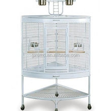Elegant large metal round bird pet cage, macaw cages