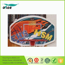 Colourful wall mounting PP basketball board system