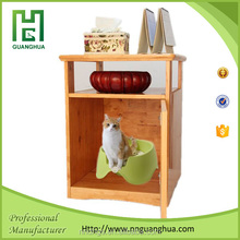 Pet & Human interactive wooden cat furniture cheap from china