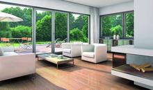 decorative double glass aluminium alloy sliding window for villa architects