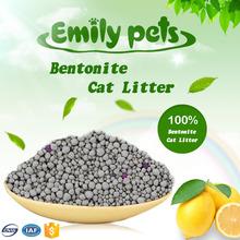 High Adsorption Dust Free Bentonite Pet Litter Lemon Fresh
