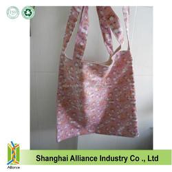 Natural Cotton Tote Bag canvas Art Bag long handle cotton bag printed