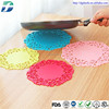 Hollow-out high temperature resistant anti-slip silicone baking mat